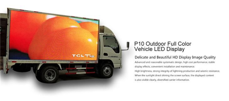 P10 SMD Outdoor Fixed Full Color LED Screen