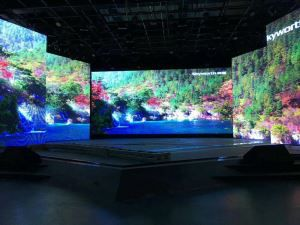 High Saturation Full Color Indoor SMD Dancing Floor Tile Display LED Screen For Stage